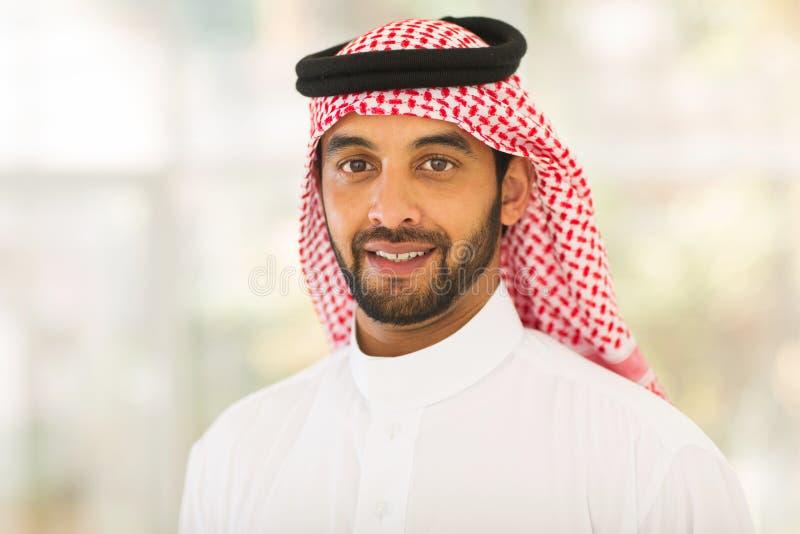 Uomo del Medio-Oriente immagine stock