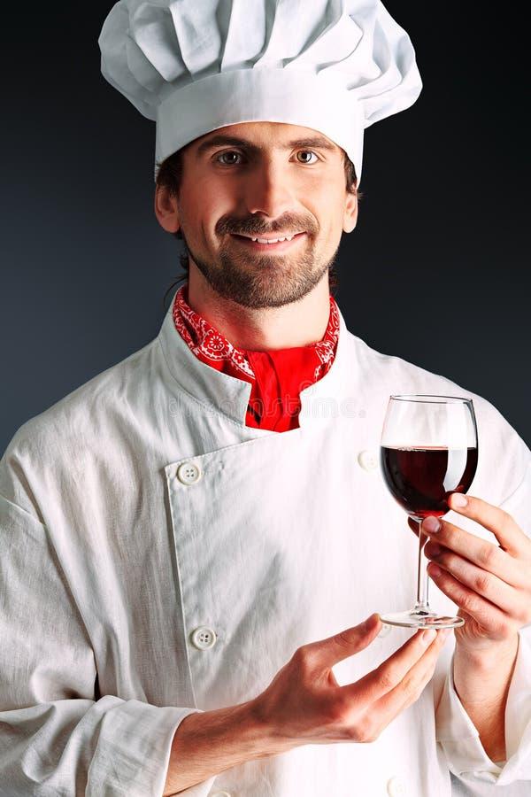 Uomo del vino fotografie stock libere da diritti