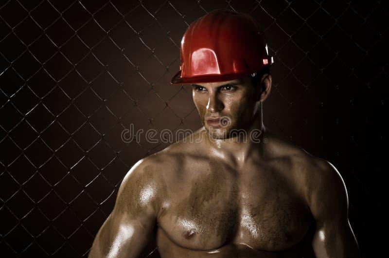 Uomo dell'operaio immagini stock