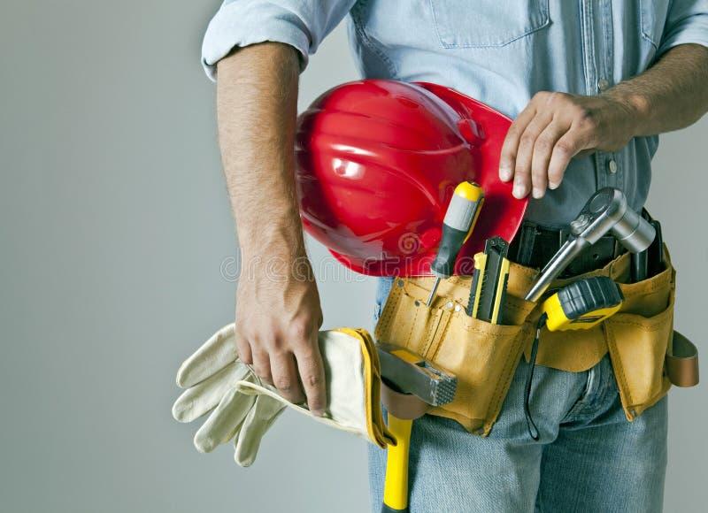 Uomo della costruzione immagini stock