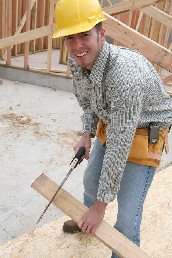 Uomo della costruzione immagini stock libere da diritti