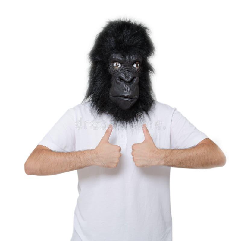 Uomo della gorilla immagine stock libera da diritti