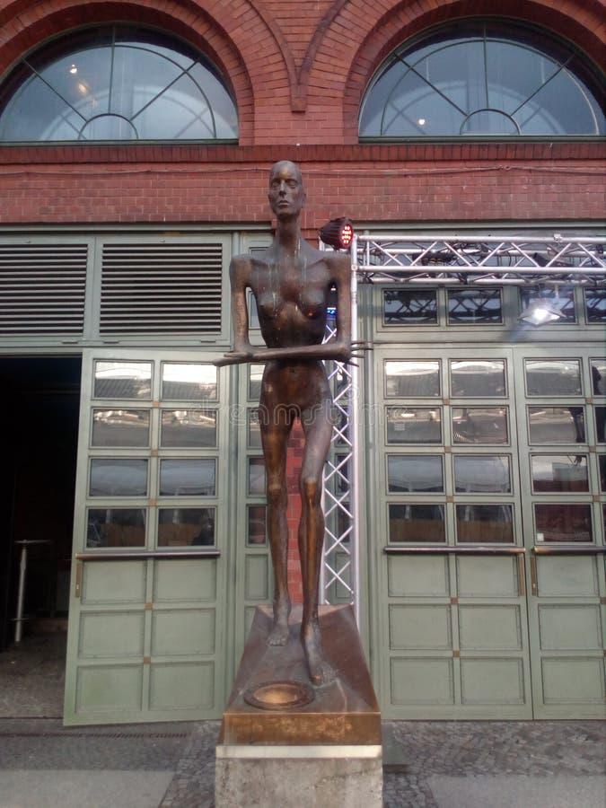Uomo della statua fotografia stock