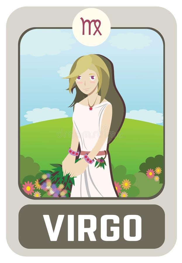 Uomo dello zodiaco: Vergine immagini stock libere da diritti