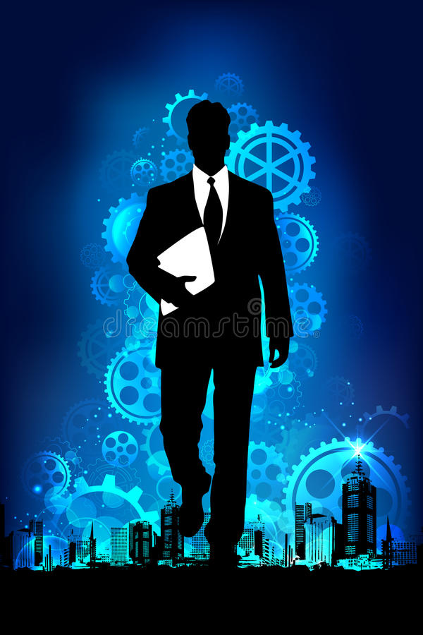 Uomo di affari royalty illustrazione gratis