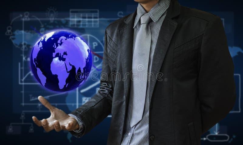 Download Uomo di affari illustrazione di stock. Illustrazione di tenuta - 55364912