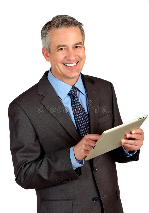 Uomo di affari maturi immagini stock