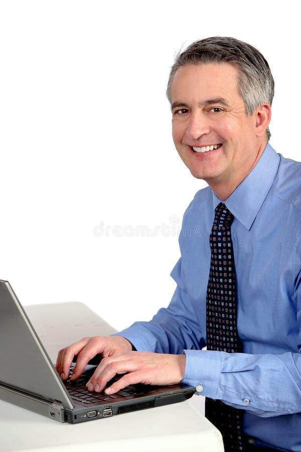 Uomo di affari maturi immagine stock
