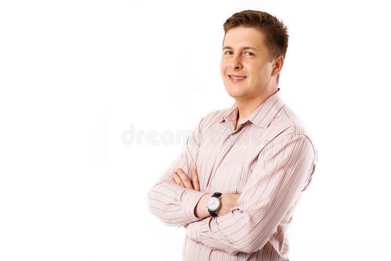 Uomo di Cheerfull immagine stock