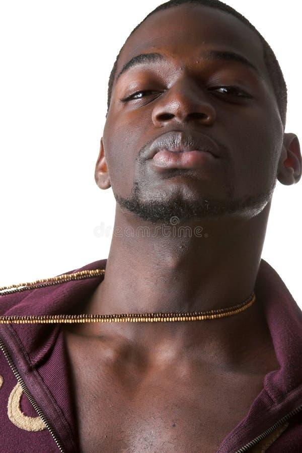 Uomo di colore caldo fotografia stock libera da diritti