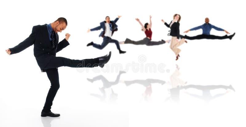 Uomo di Dancing fotografie stock