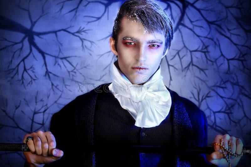 Uomo di Halloween fotografie stock libere da diritti