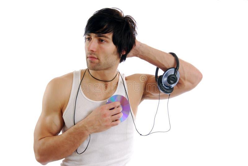 Download Uomo di musica immagine stock. Immagine di suono, maschio - 3880587