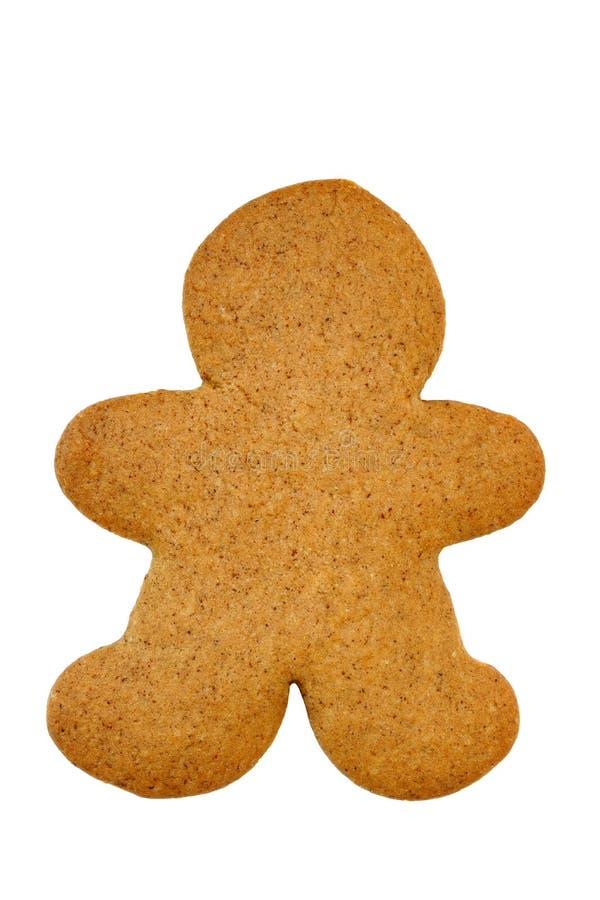 Uomo di pan di zenzero Undecorated immagini stock libere da diritti