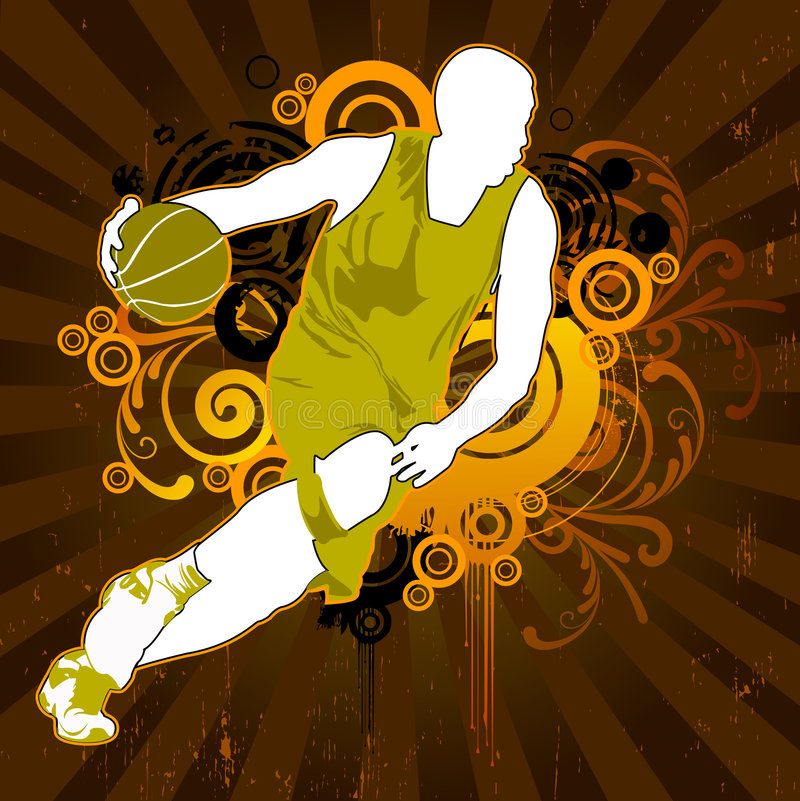 Uomo di sport illustrazione di stock