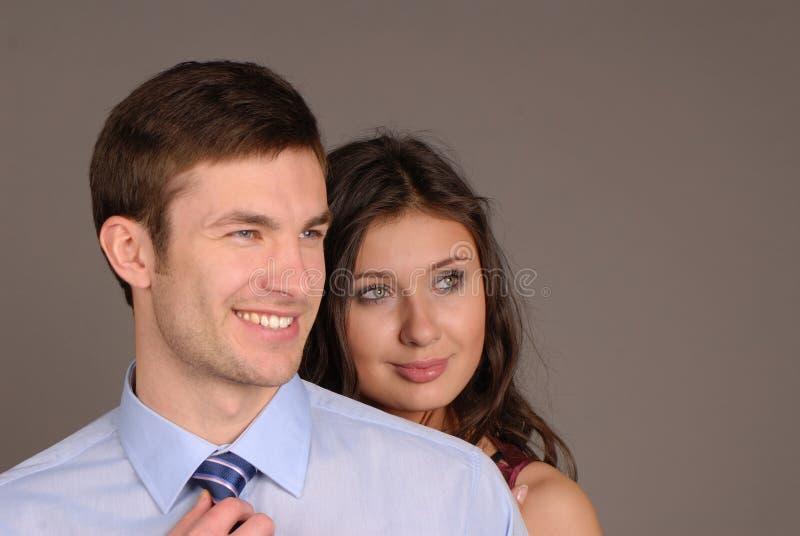 Uomo e donna immagini stock