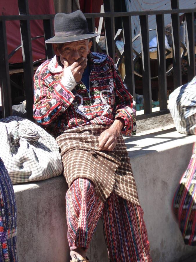 Uomo guatemalteco fotografie stock libere da diritti