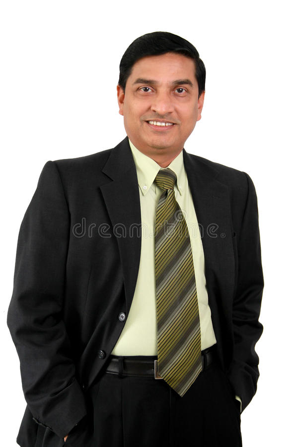 Uomo indiano di affari. immagine stock