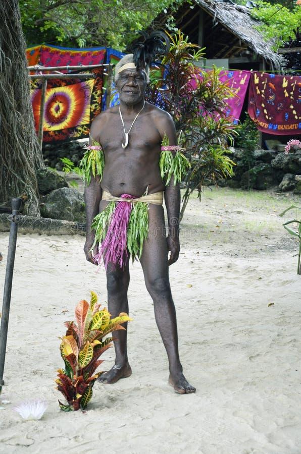 Uomo indigeno. fotografia stock