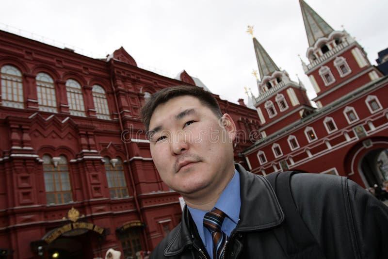 Uomo in Kremlin immagini stock