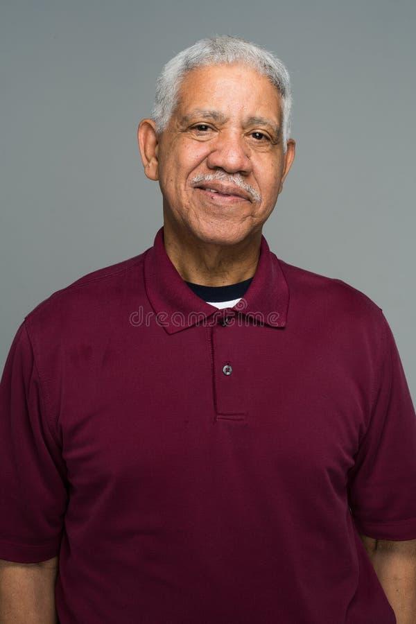 Uomo maggiore anziano immagini stock libere da diritti