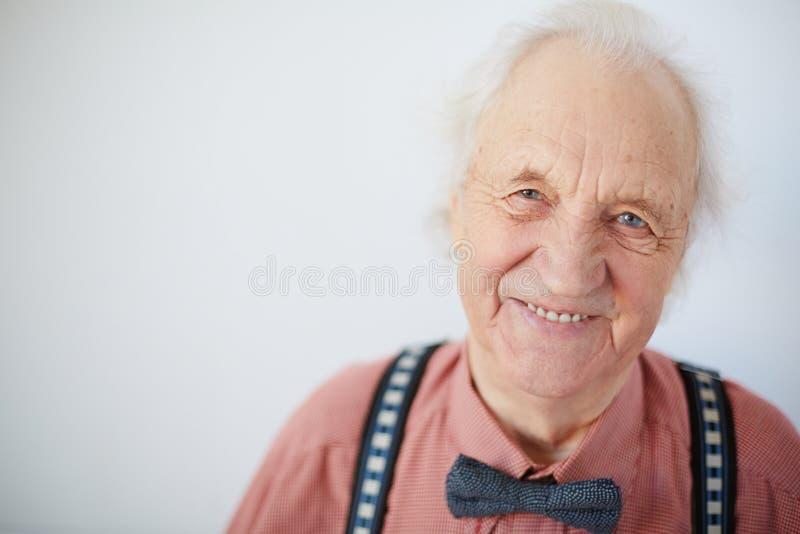 Uomo maggiore felice fotografia stock libera da diritti