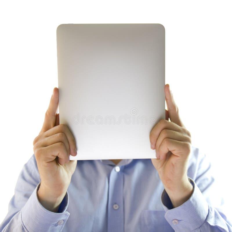 Uomo nascosto. fotografia stock libera da diritti