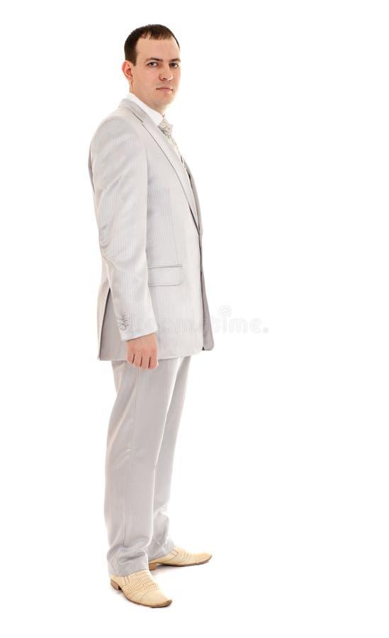 Uomo nel vestito di cerimonia nuziale fotografie stock