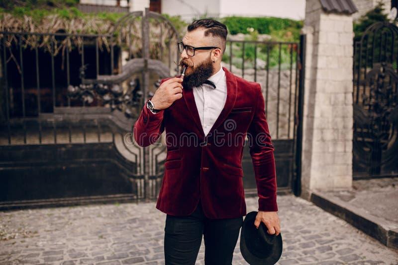 Uomo ricco fotografia stock