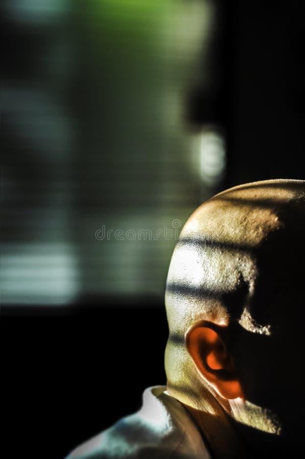Uomo segreto anonimo immagine stock