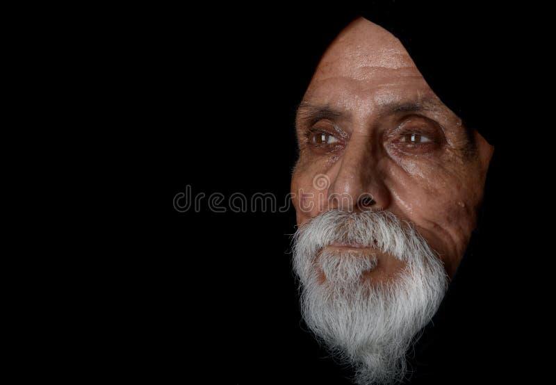 Uomo senior fotografia stock