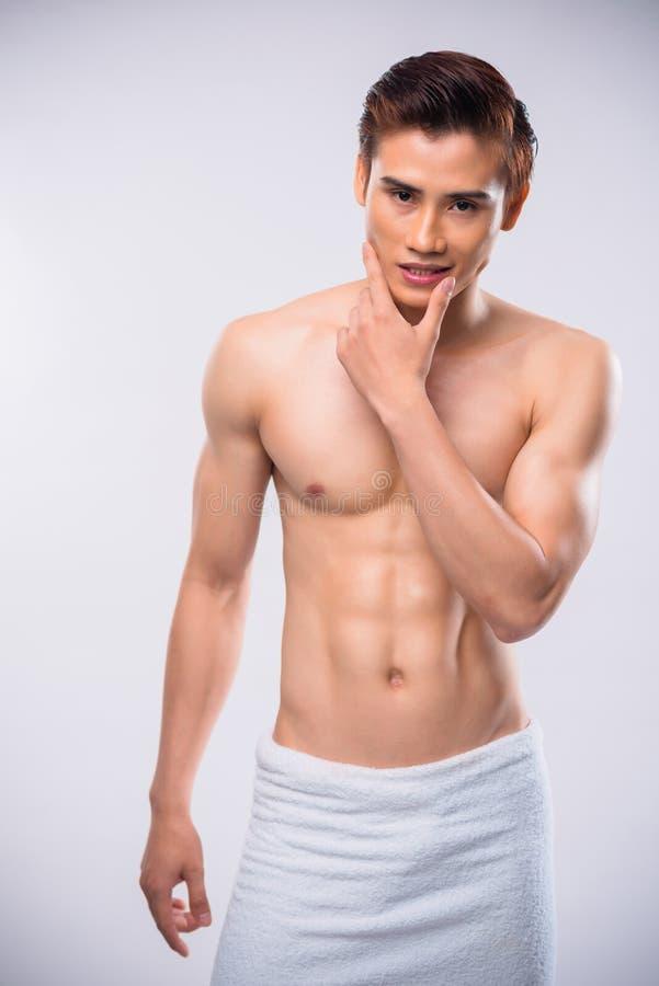 Uomo sensuale immagini stock libere da diritti