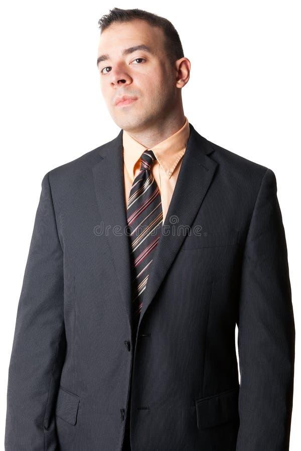 Uomo serio di affari immagini stock