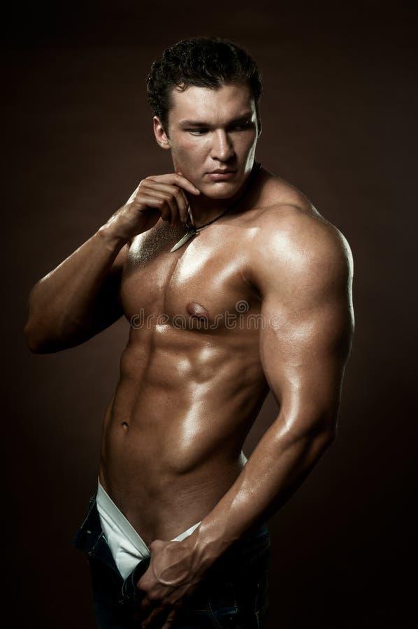 Uomo sexy fotografie stock libere da diritti