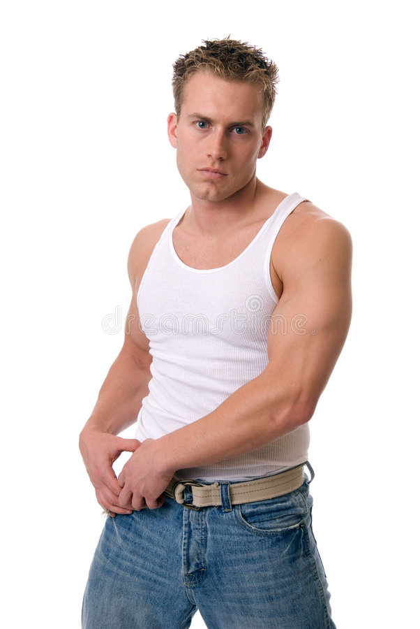 Uomo sexy fotografia stock libera da diritti