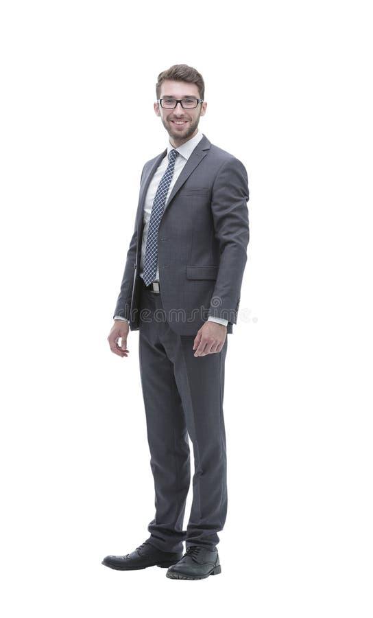 Uomo sicuro sorridente di affari E fotografia stock