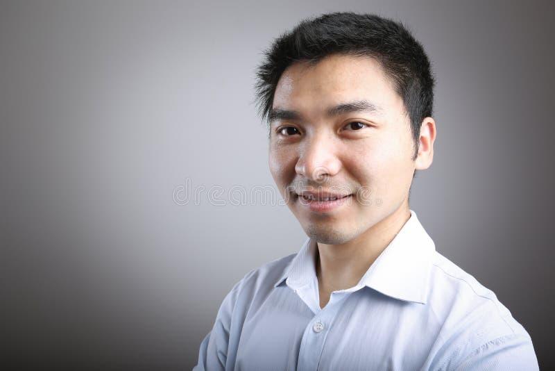 Uomo sorridente fotografie stock