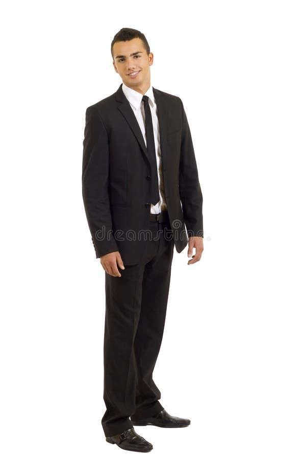 Uomo sorridente di affari immagini stock