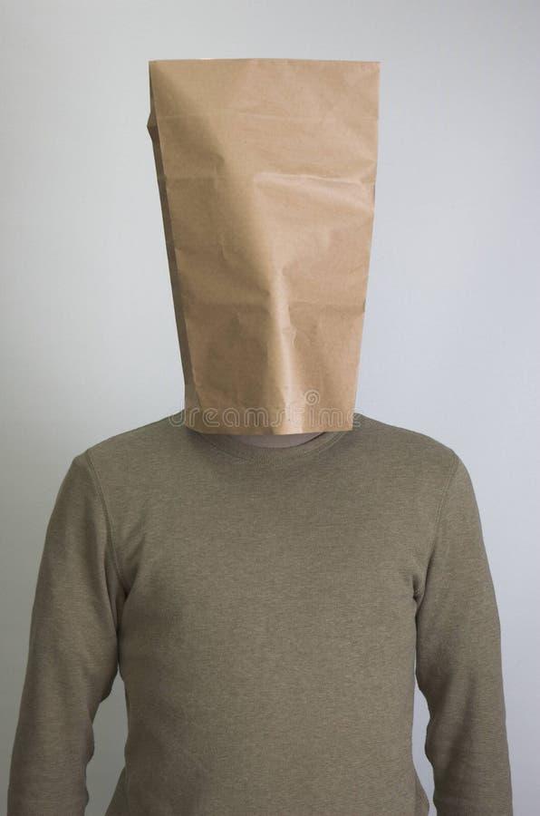 Uomo timido immagini stock libere da diritti