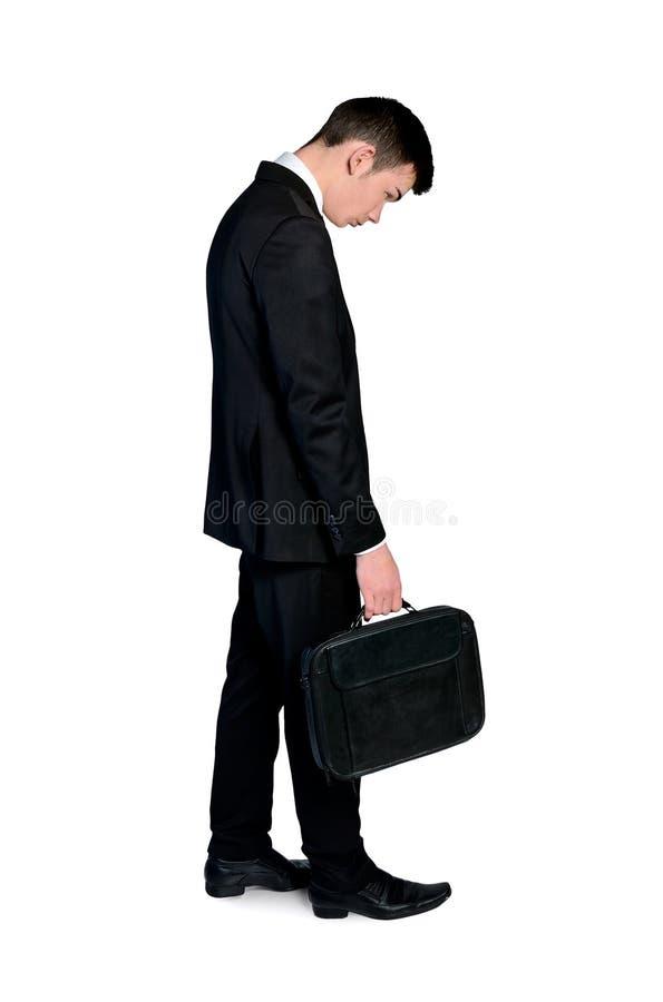 Uomo triste di affari immagini stock libere da diritti