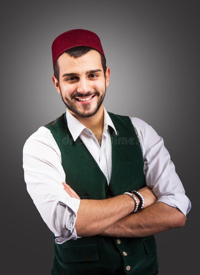 Uomo turco bello immagine stock