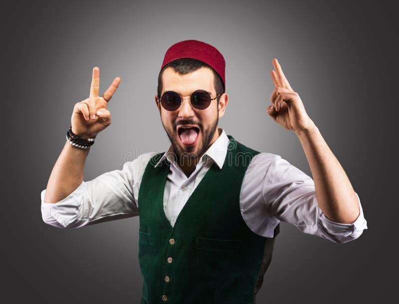 Uomo turco felice immagini stock