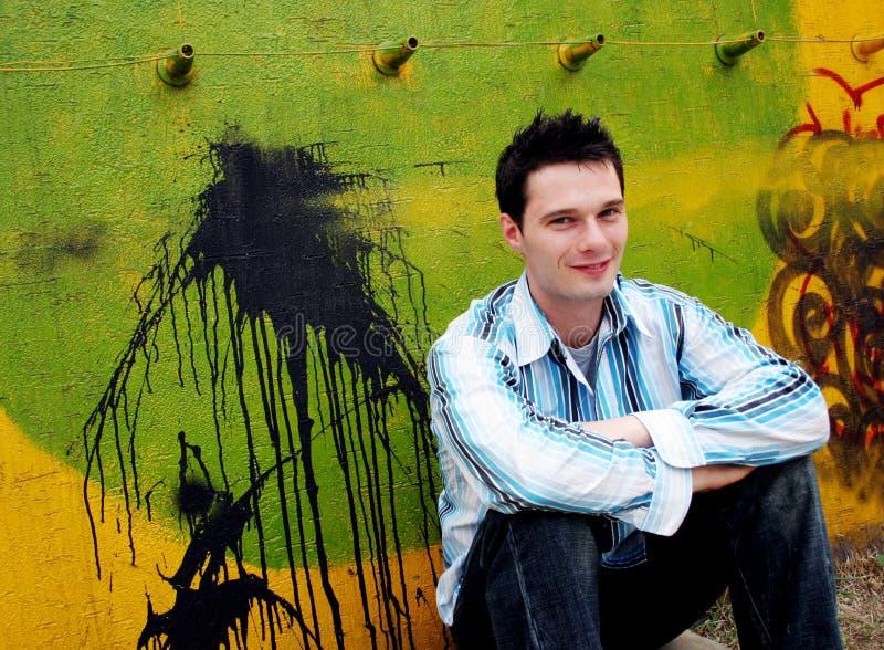 Uomo urbano immagine stock