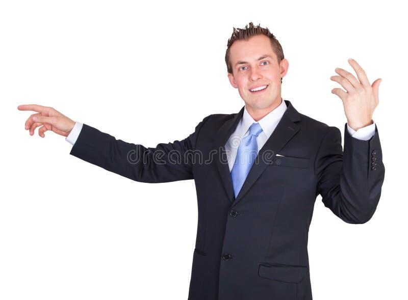 Uomo utile di affari immagine stock