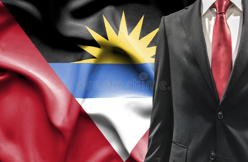 Uomo in vestito dall'Antigua e Barbuda fotografia stock