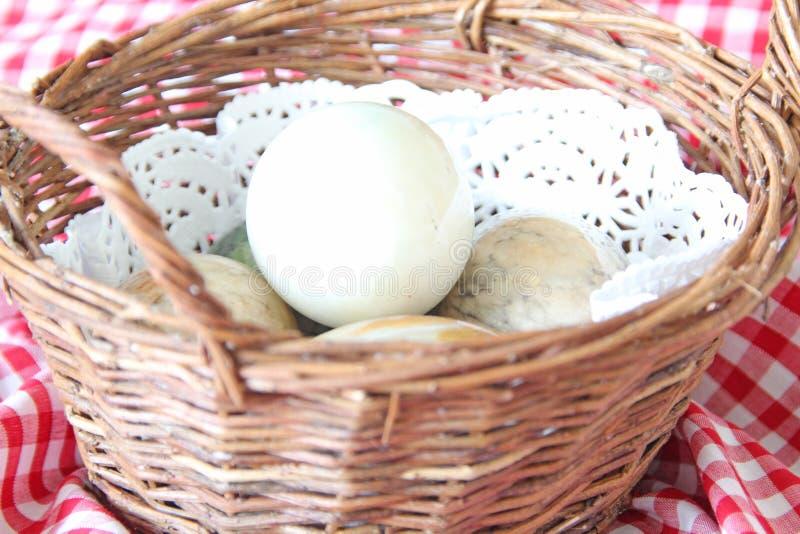 Uova dell'onyx e del marmo fotografie stock libere da diritti