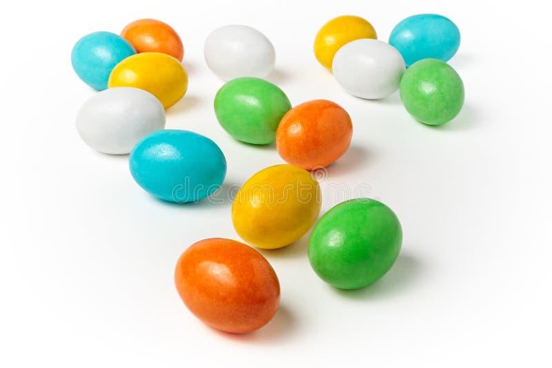 Uova di caramella fotografie stock