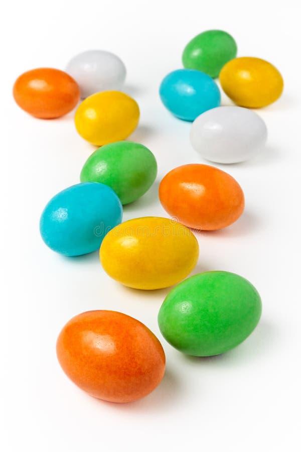 Uova di caramella fotografia stock