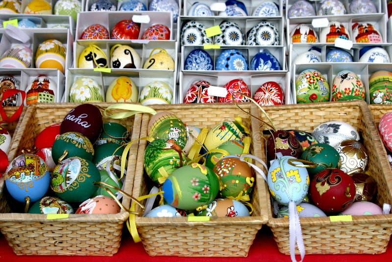 Uova di Pasqua 03 fotografie stock libere da diritti