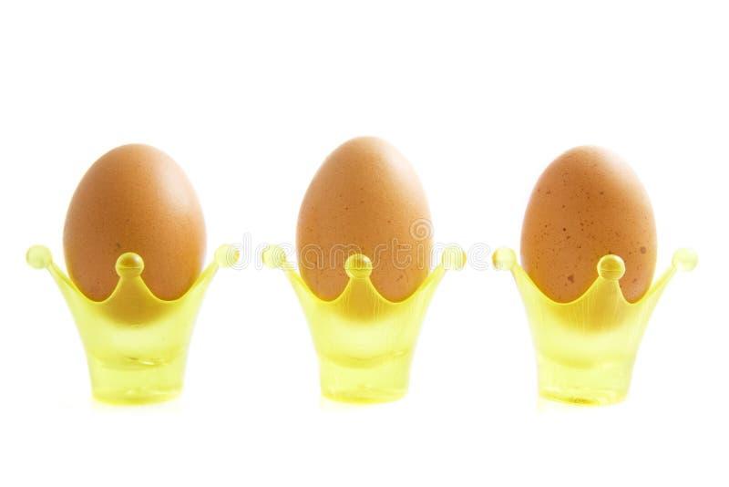 Uova di Pasqua reali fotografia stock